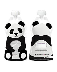 Squooshi: Large Food Storage Pouch (Panda) 130ml - 20% OFF!!