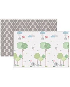 Parklon: PVC Pure Soft Mat (Double Sided) - Grow Elephant + Mono Raum (M) - 22% OFF!!