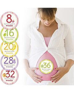 Pearhead: Mommy Belly Stickers - 15% OFF!!