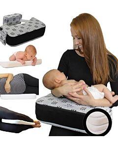 Peek Away Breastfeeding + Plus, Gray & Black - 10% OFF!!