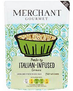Merchant Gourmet: Pesto-ey Italian-Infused Grains 250g