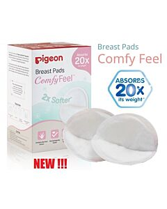 Pigeon: Comfy Feel Disposable Breast Pads - 100pcs