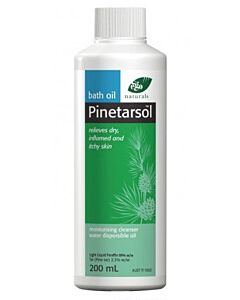 Pinetarsol Bath Oil 200ml - 15% OFF!!