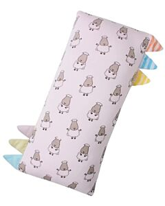 Baa Baa Sheepz: Bed-Time Buddy Small Sheepz Pink with Color & Stripe Tag (Small) - 10% OFF!!