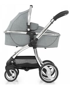 Egg® Stroller: Platinum Grey On Silver Chassis (Special Edition) - 30% OFF SPECIAL!!