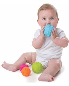 Playgro: Textured Sensory Balls - 4 Pack - 15% OFF!!