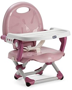 CHICCO Pocket Snack Booster Seat | Rose - 27% OFF!!