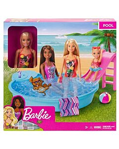 Barbie® Doll and Playset   Pool Party (3Y+) - 13% OFF!!