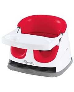Ingenuity Baby Base 2-in-1 Seat (Poppy Red) NEW (Version 3.0) - 37% OFF!!