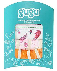 Gugu Premium Binders String - 5 Days Kit - Girl