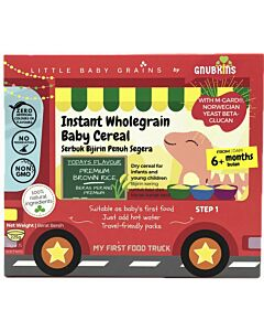 Little Baby Grains: Instant Wholegrain Baby Cereal | Premium Brown Rice (From 6+ Months)