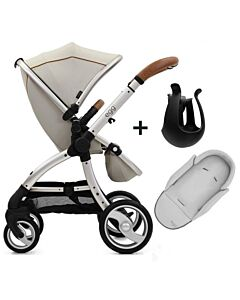 Egg® Stroller: Prosecco On Champagne Chassis - 11% OFF!!