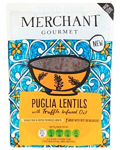 Merchant Gourmet: Puglia Lentils with Truffle-Infused Oil 250g