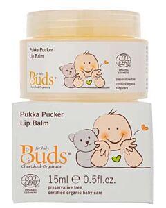 Buds Cherished Organics: Pukka Pucker Lip Balm 15ml - 15% OFF!