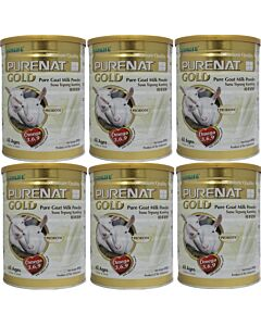 Purenat GOLD Goat Milk Powder, 800g [6 TIN COMBO] - 23% OFF!!