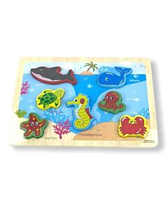 Funny Kid's: Puzzle Board - Marine Life - 10% OFF!!