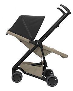 Quinny Zapp Flex Stroller | Black on Sand - 30% OFF!! + FREE!! Maxi Cosi Cabriofix Travel System