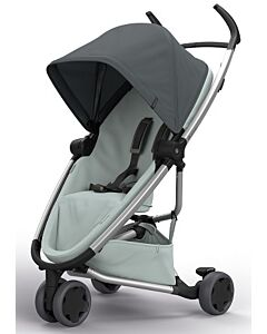 Quinny Zapp Flex Stroller | Graphite on Grey - 30% OFF!! + FREE!! Maxi Cosi Cabriofix Travel System