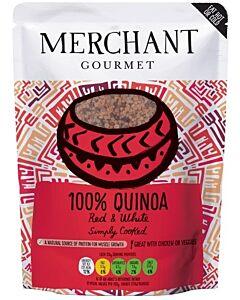 Merchant Gourmet: Red & White Quinoa 250g