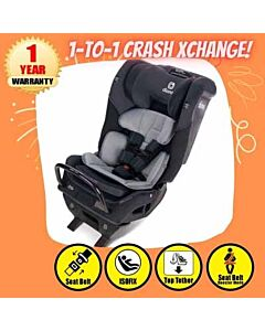 Diono Radian® 3QX Convertible Car Seat - Black Jet - 20% OFF!!
