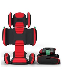 Hifold: Fit-and-Fold Booster Car Seat - Racing Red  - 13% OFF!!