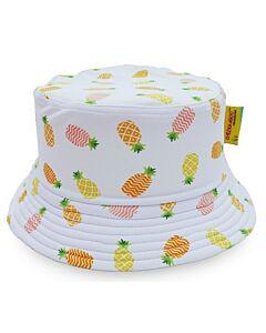 Cheekaaboo Reversible Sun Hat - Orange / Pineapple