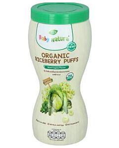 Baby Natura: Organic Riceberry Puffs - Mixed Veggies Flavour 40gm - 15% OFF!!