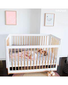Babyhood Riya 5-in-1 Cot Bed (White) - 10% OFF!