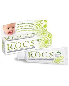 R.O.C.S. Toothpaste: Baby Mild Care with Camomile (Newborn - 3 years old)