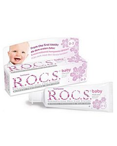 R.O.C.S. Toothpaste: Baby Mild Care with Lime-Blossom