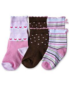 Bumble Bee: Socks - Simple Love Socks 3 Pairs (12-24 months)