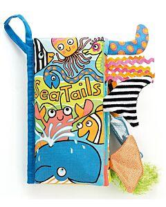 Jellycat: Sea Tails Book (21cm)
