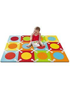 Skip Hop: Playspot Foam Floor Tiles Bold Brights (12 Tiles) - 20% OFF!!