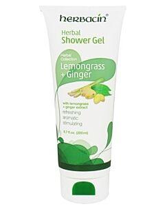 Herbacin: Herbal Shower Gel with Lemongrass + Ginger (200ml) - 5% OFF!!