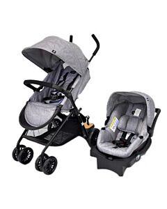 Evenflo Travel System Stroller Sibby™ (EV0316A/31W1) - Light Grey - 35% OFF!