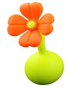 Haakaa: Breast Pump Silicone Flower Stopper - ORANGE - 27% OFF!!
