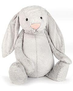 Jellycat: Bashful Silver Bunny - Really Really Big (108cm)