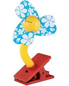 Simple Dimple: Clip On Fan - Blue - 10% OFF!