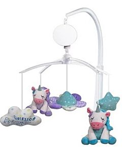 Simple Dimple Unicorn Battery Operated Musical Mobile - 10% OFF!!