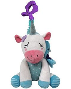 Simple Dimple Unicorn Musical Pull String Toy [Blue] - 17% OFF!!