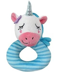 Simple Dimple Unicorn Rattle Toy [Blue] - 23% OFF