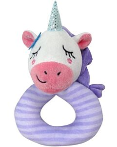 Simple Dimple Unicorn Rattle Toy [Purple] - 23% OFF