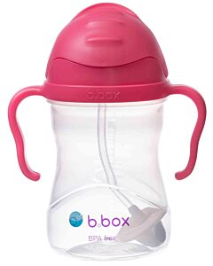 B.Box: Sippy Cup 240ml/8oz | Raspberry (6+ Months) - 20% OFF!!