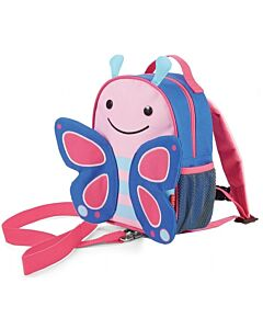 Skip Hop Zoo: Let Safety Harness Mini Backpack with Rein - Butterfly - 20% OFF!