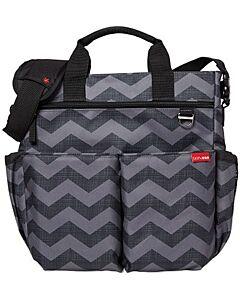 Skip Hop: Duo Signature Diaper Bag - Tonal Chevron - 20% OFF!!