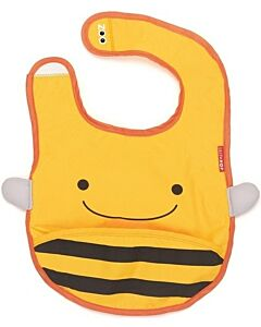 Skip Hop Zoo Tuck-Away Bib - Bee - 26% OFF!