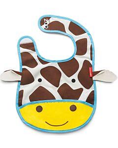 Skip Hop Zoo Tuck-Away Bib - Giraffe - 26% OFF!!