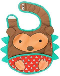 Skip Hop Zoo Tuck-Away Bib - Hedgehog - 26% OFF!