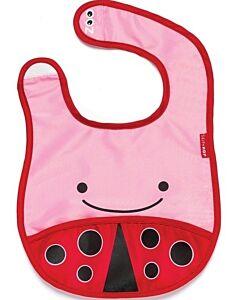 Skip Hop Zoo Tuck-Away Bib - Ladybug - 26% OFF!