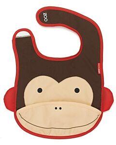 Skip Hop Zoo Tuck-Away Bib - Monkey - 22% OFF!!